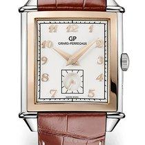 Girard Perregaux Vintage 1945 new Automatic Watch with original box and original papers 25880-56-111-BBBA Girard Perregaux Piccoli Secondi Marrone
