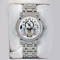 Montblanc Nicolas Rieussec Steel 43mm Silver United States of America, New York, Airmont