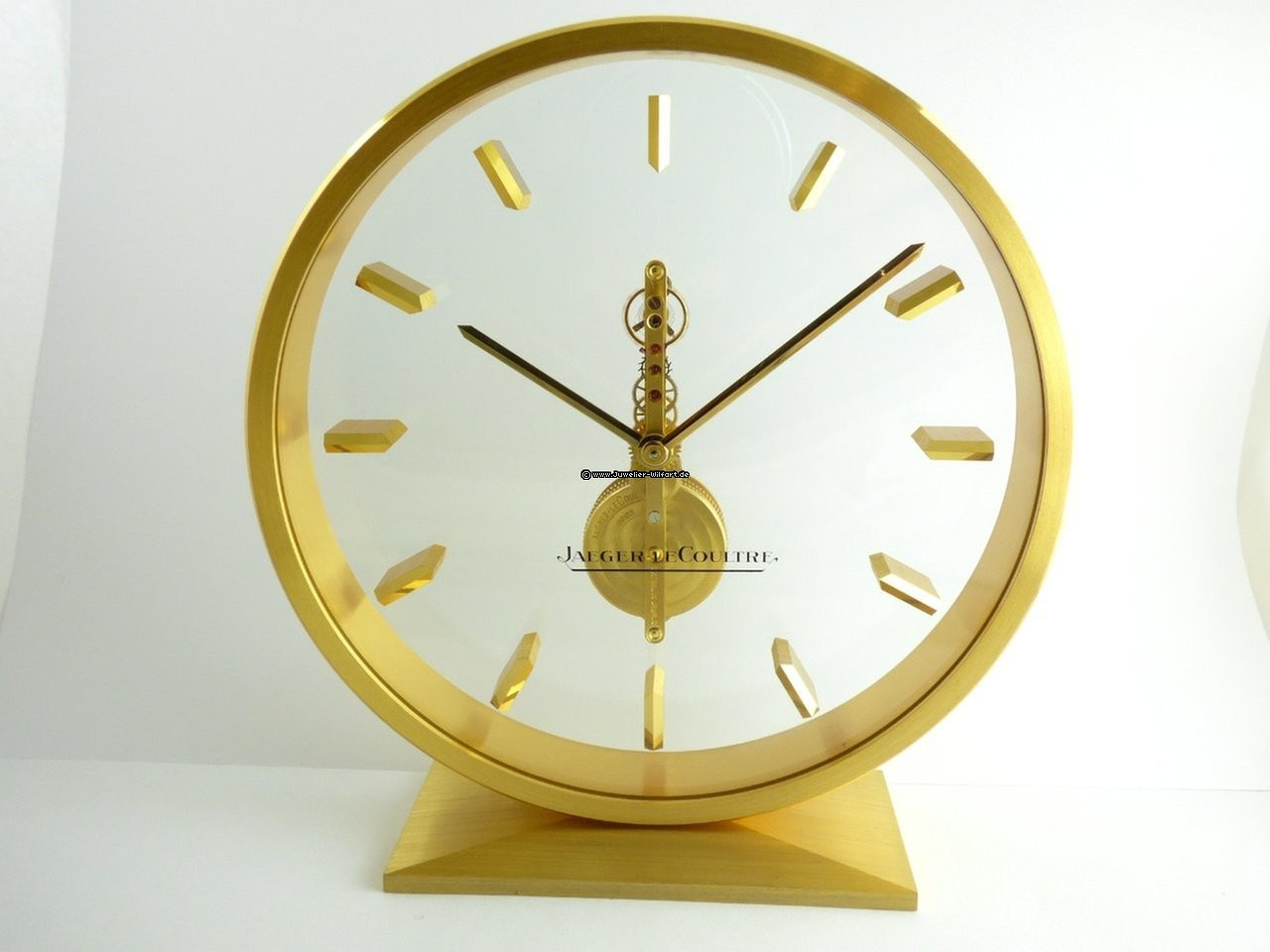 Jaeger LeCoultre Table Clock Stick Movement 8 Days For $1,945 For Sale From  A Trusted Seller On Chrono24