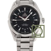 Omega Seamaster Aqua Terra 150m co-axial GMT 43mm black dial