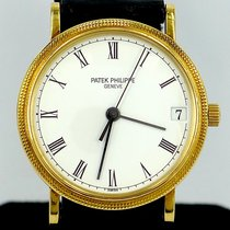 Patek Philippe Calatrava Ref 3802/200 18K Yellow Gold