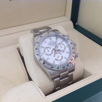 Rolex Daytona Stainless Steel White 2014 like new