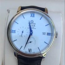Omega DE VILLE PRESTIGE Co-Axial Power Reserve.White Gold Case