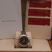 Omega Seamaster Aqua Terra Diamond Rose Gold Mens Watch...