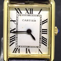 Cartier Tank Paris 18K YellowGold Manual Wind 24mm.