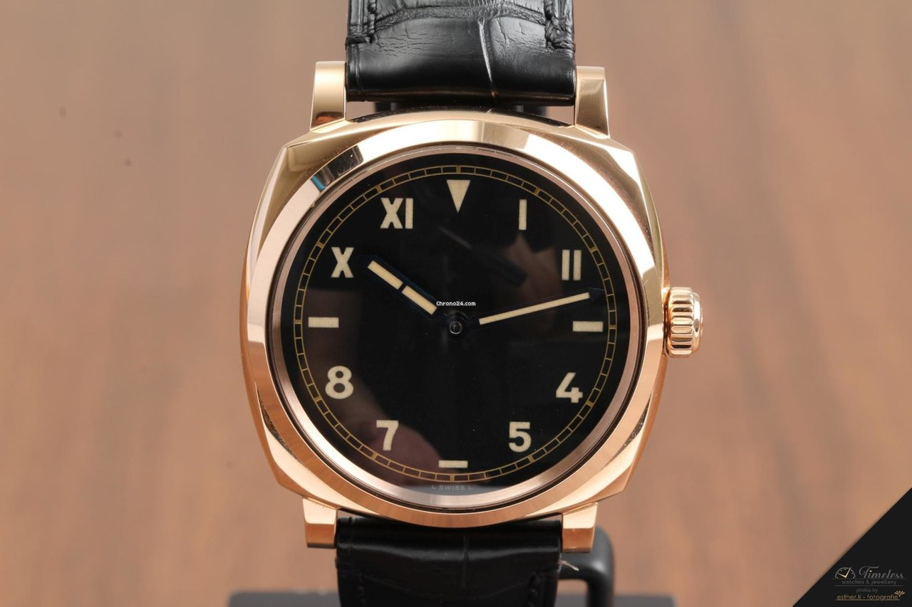 b6c424f5799 Panerai Radiomir 1940 3 Days Red Gold PAM740 for  20