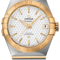 Omega Constellation Men New Gold/Steel 38mm Automatic