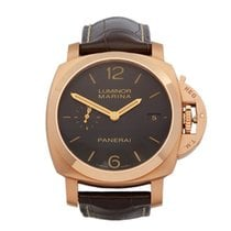 Panerai Luminor Marina 1950 3 Days Automatic pre-owned 42mm Rose gold