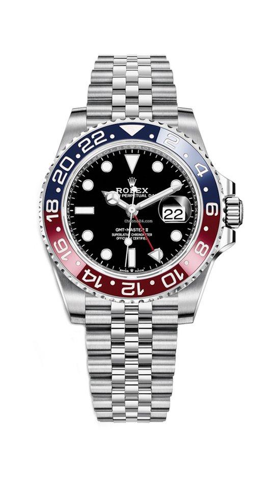 Rolex GMT,Master II Jubilee Bracelet Pepsi
