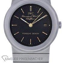 IWC Porsche Design Титан 26mm Черный Без цифр