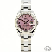 Rolex Datejust 26mm Ladies Lady | Pink Roman | White Gold Bezel