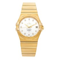 Omega Constellation Ladies pre-owned 35mm Yellow gold