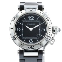 Cartier Pasha Seatimer pre-owned 33mm Steel
