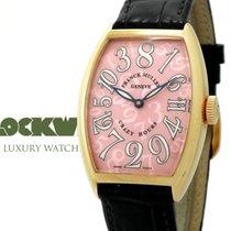 Franck Muller Crazy Hours Rose gold 32mm Arabic numerals