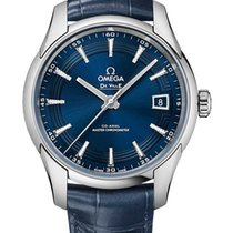 Omega De Ville Hour Vision new Automatic Watch with original box and original papers 433.33.41.21.03.001