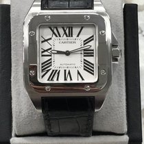 Cartier Santos 100 51.1mm Silver United States of America, California, San Diego