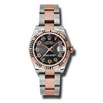 Rolex Lady-Datejust nuevo Reloj con estuche y documentos originales 178271 BKCAO