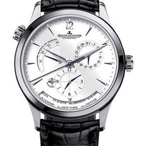Jaeger-LeCoultre Master Geographic Steel 39mm Silver United States of America, Iowa, Des Moines