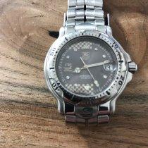TAG Heuer 6000 Steel 34mm Grey No numerals