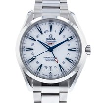 Omega Titanium Automatic White 43mm pre-owned Seamaster Aqua Terra