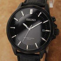 Seiko Solar Сталь 40mm Чёрный
