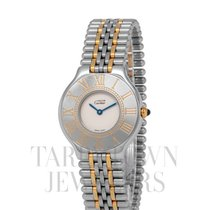 Cartier 21 Must de Cartier Steel 31mm White Roman numerals United States of America, New York, Hartsdale
