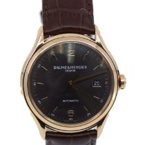 Baume & Mercier Clifton Rose gold 38.8mm Grey United States of America, New York, New York