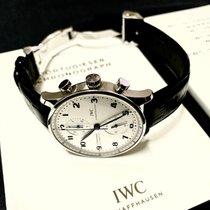 IWC Portuguese Chronograph Steel Silver Arabic numerals UAE, Abu Dhabi