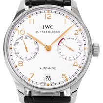 IWC IW500114 Steel 2012 Portuguese Automatic 42.3mm pre-owned