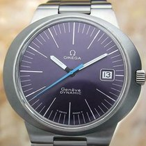 Omega Genève Steel 41mm Blue No numerals United States of America, California, Hercules