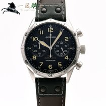 Junghans Meister Pilot pre-owned 43mm Black Leather