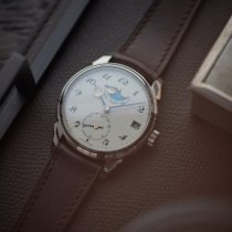 Urban Jürgensen Or blanc 40mm Remontage manuel Urban Jürgensen Jules Collection - Ref. 2340 WG nouveau