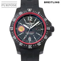 Breitling Quarz Schwarz 45mm gebraucht