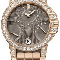 Harry Winston new Automatic Guilloche Dial 36mm Rose gold