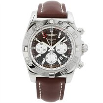Breitling Chronomat GMT 47mm Brown Dial Brown Strap NEW