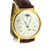 Breguet Classic Moon phase day-date pink gold