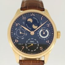 IWC Portuguese Perpetual Calendar from '05 with box and papers