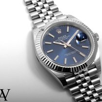 Rolex SS Datejust 41mm Blue Lumi Dial 126334 UNWORN w/ Box...