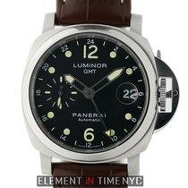 Panerai Luminor Collection Luminor GMT 40mm Steel Black Dial...