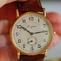 Longines HERITAGE Rose Gold Silver Dial Arabic No 34mm L47678732