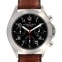 Eterna Airforce 8411.41.45 522c Steel, 39mm
