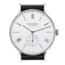 NOMOS Ludwig Neomatik Steel 41mm White No numerals