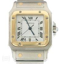 Cartier Uhr Santos Quarz Medium Revision Ref. 187901
