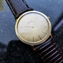 Piaget Vintage 18k Gold 1960s Automatic Swiss 32mm Mens 12603...