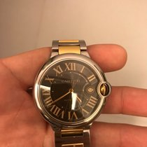 Cartier Ballon Bleu Steel & Rose Gold Gents W6920032