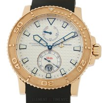 Ulysse Nardin Maxi Marine Diver Rose gold 43mm Silver United States of America, New York, New York