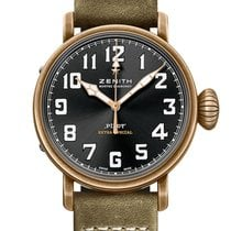Zenith Bronze Automatic Black Arabic numerals 40mm new Pilot Type 20 Extra Special