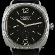 Panerai Radiomir 10 Days GMT pre-owned 47mm Date GMT Leather