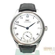 IWC Portugieser Handaufzug neu 2020 Handaufzug Uhr mit Original-Box und Original-Papieren IW510212