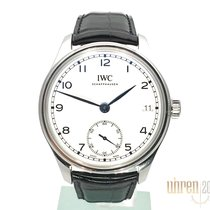 IWC Steel 43mm Manual winding IW510212 new